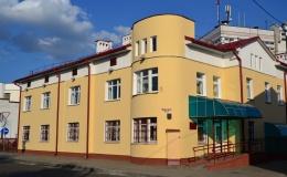 Здание фонда социальной защиты населения (ул.Горького,72)