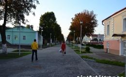 На улице Первомайской появилась пешеходная зона