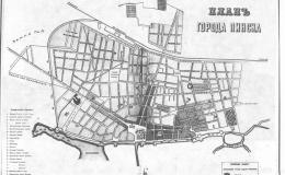 Градостроительные принципы застройки Пинска в первой половин...