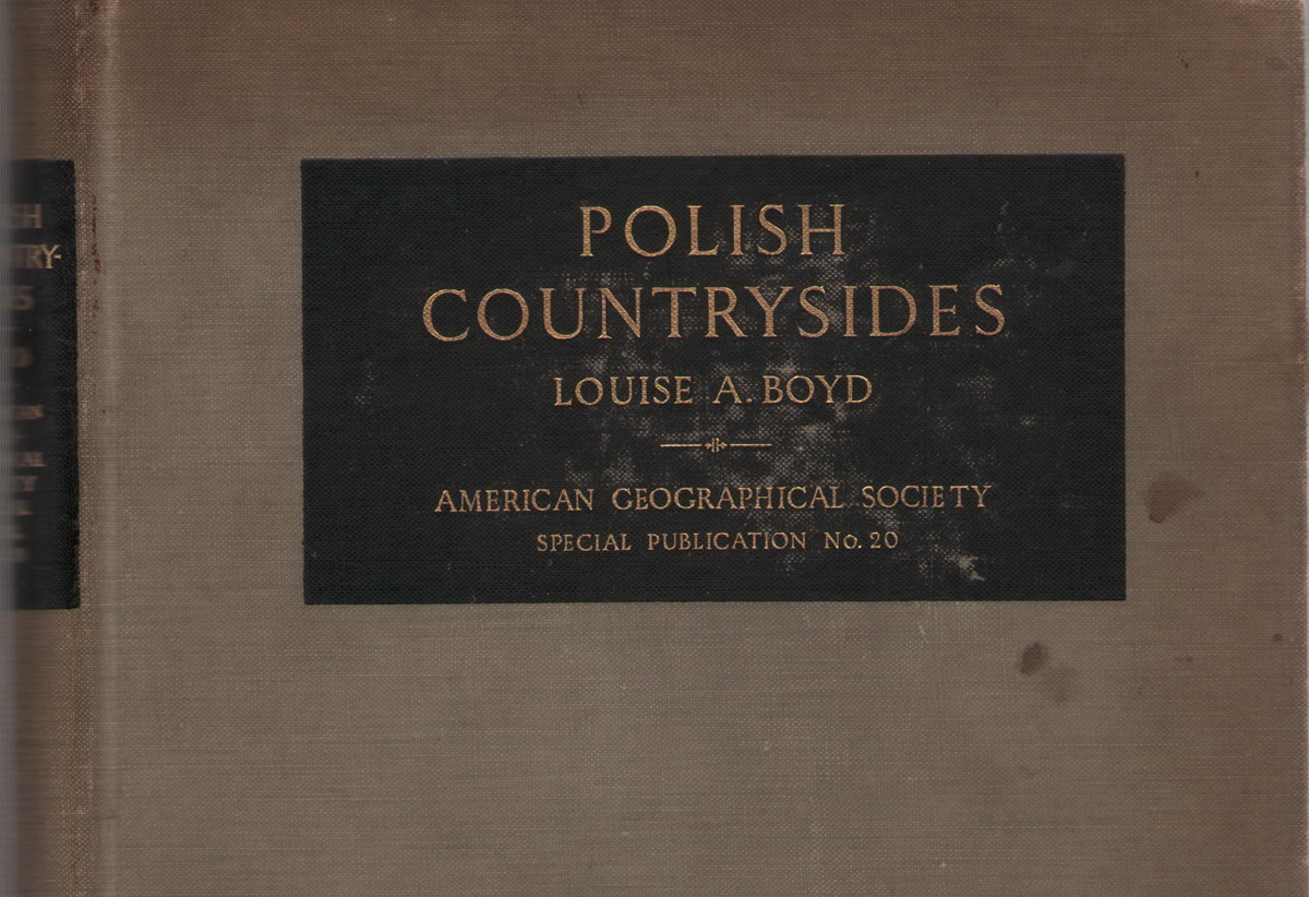 фотоальбом «Polish Countrysides» 1937 года издания Луизы Арнер Бойд