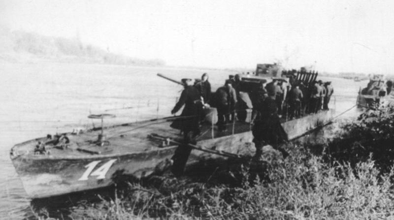 артилерийский удар по кицканскому плацдарму программы ТОП