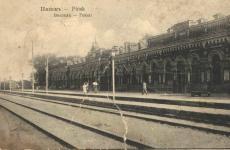 Железнодорожный вокзал в Пинске