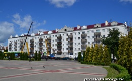 Главная площадь Пинска преобразится