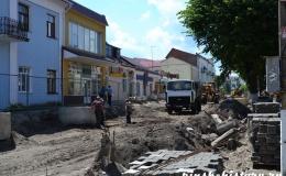 Улица Ленина в Пинске станет пешеходной