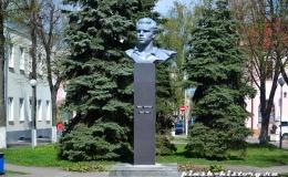 В Пинске реконструировали памятник Ивану Чуклаю