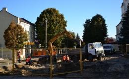 Реконструкция улицы Ленина продолжается