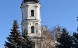 Францисканский костел (костел Успения Девы Марии). Звонница